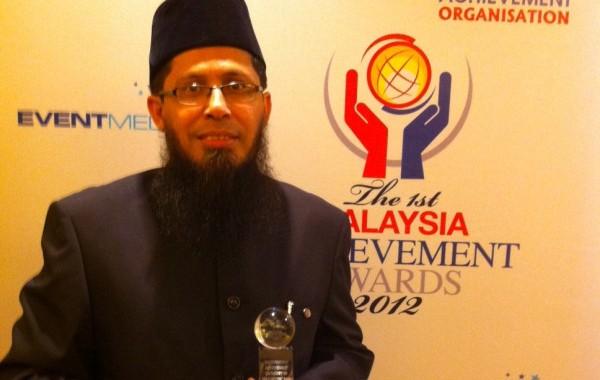 Prof Amin Terima Anugerah MAA 2012