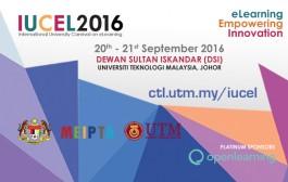 International University Carnival on Elearning - IUCEL 2016