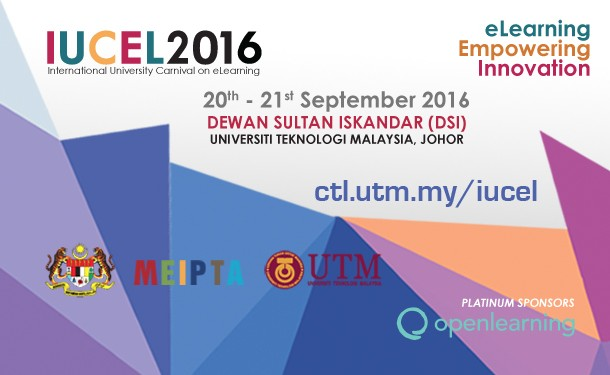 International University Carnival on Elearning - IUCEL 2016