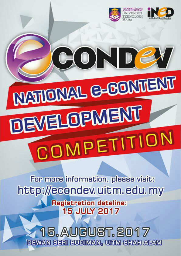 National e-Content Development Competition (eConDev2017)