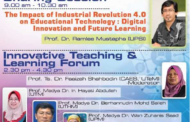 The impact of industrial revolution 4.0 on educational technology: digital innovation and future learning